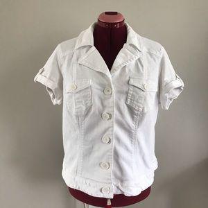 ADDITION ELLE  Size Plus Short sleeves jacket